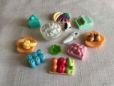 Littlest Pet Shop LPS Lot Of Food Accessories