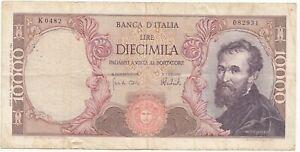 Italie billet de 10 000 lire 1962