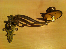 Antique Art Nouveau Brass Single Piano Wall Candle Sconce Holder Lights (GR430)