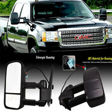 For 2003-06 Silverado Sierra Pickup Towing POWER HEATED With Led Turn Signal Tel