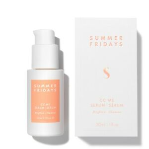 Summer Fridays CC Me Vitamin C Serum full size 30ml new and boxed RRP£57.00