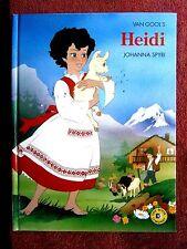 VAN  GOOL'S    HEIDI     BY  JOHANNA SPYRI   HARD COVER