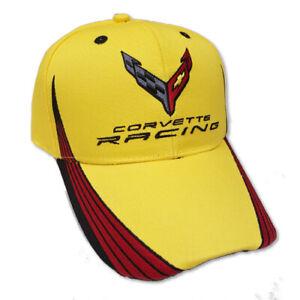 C8 Corvette Racing Yellow Cotton Hat