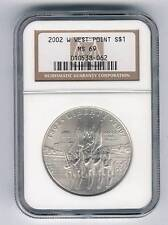 2002 W West Point Bicentennial Commemorative Silver $1 NGC MS 69