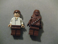 Lego Star Wars Han Solo And Chewbacca Minifigures