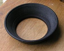 original Olympus OM  rubber lens hood for 28mm 2.8 3.5