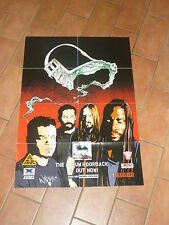2000 AD Comic - SEPULTURA Promo poster for ROORBACK LP & MOTORHEAD INFERNO LP