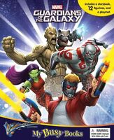 Guardians of The Galaxy My Busy Book With 12 Figures & Play mat
