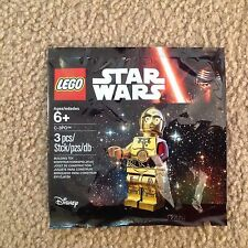 Lego Star Wars Episode 7 NEW C3-PO red arm minifig 5002948 2015 promo limited