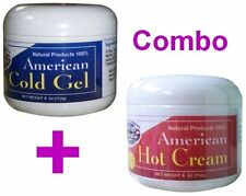 REDUCE COLD GEL & HOT CREAM 4 Oz ea BODY FAT BURNER Reductor Thermo Frezze cream