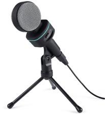 Kondensator Mikro Mikrofon 3,5mm Klinke Stativ Für PC Notebook Smartphones MI-W1