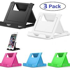 Universal Foldable Cell Phone Stand - 3 Pack