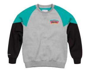Mitchell & Ness San Antonio Spurs Crew Sweatshirt