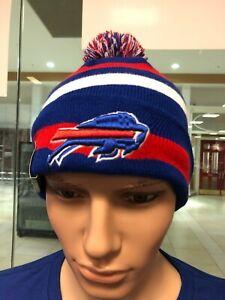 Buffalo Bills  Sport Knit Beanie  NEW ERA BRAND   WITH POM  YOUTH/BOYS