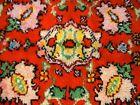 "Painter's Palette Vintage Turkish Shaggy Rug 58""X83"" (5 X 7Ft)"