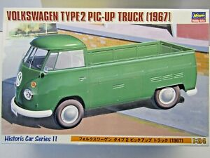 Hasegawa 1:24 Scale Volkswagen Type 2 Pic-Up Truck (1967) Model Kit # 21211 New