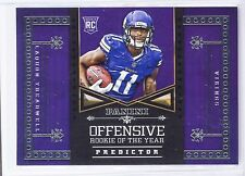 2016 Panini Laquon Treadwell Offensive Rookie Of The Year Predictor OROY-7 RC