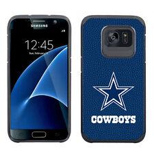 Samsung Galaxy S7 EDGE ONLY Dallas Cowboys Pebble Grain Feel Multi Layer Case