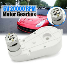 6V Electric Motor Gear Box 20000RPM For Kids Ride On Motorbike Quad Bike Car Toy