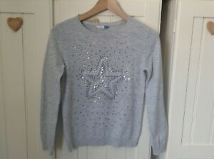 Girl's Sequin Star John Lewis Jumper Age 11 Years