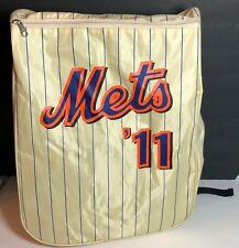 New York Mets Backpack 2011 Sports Travel School Bag '11 Off White NY Baseball