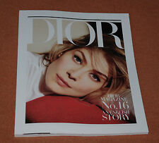 "DIOR MAGAZINE N°16 ""ENGLISH STORY"" AVEC ROSAMUND PIKE AUTOMNE HIVER 2016"
