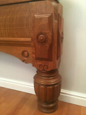 12ft Orme & Sons Oak.Quality Full Size Antique Snooker Table (Circa 1900)