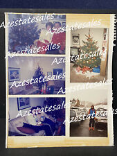 Rare The Eagles Glenn Frey Original Christmas Photos at parents & brothers house