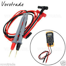 1000V/20A Universal Digital Multimeter Test Leads V/A TEST Probe Wire Pen Cable