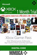 [Trial] Xbox Game Pass 1 Mes Suscripción - Xbox One Xbox 360 Código Digital - ES