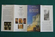 SCHUITEN : Dépliant pour le Théâtre des images / Angoulême 2003