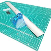 Jakar A2 Picture Photo Mount Cutter 60cm Guide Ruler & Cutting Mat Set Kit