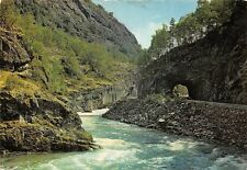 Norway The Laerdal River Sogn, Velkjent Lakseelv Road Tunnel