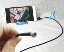 For Android Phone PC Waterproof Screw micro mini spy pinhole hidden camera 3.5m