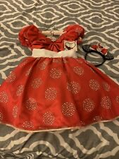 Disney Store Limited Edition 1 of only 1500 Minnie Mouse Costume Dress 10