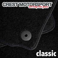 VW TOURAN 2010-2016 CLASSIC Tailored Black Car Floor Mats