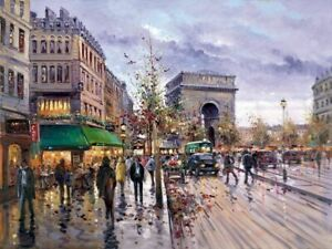 Postcard from Paris ( Framed ) by Henderson Cisz Limited Edition Print