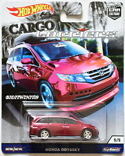HOT WHEELS 2018 CAR CULTURE CARGO CARRIERS HONDA ODYSSEY #5/5 RED