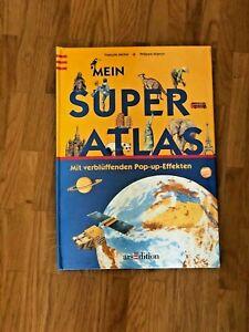 Mein Super-Atlas mit verblüffenden Pop-up-Effekten (Gebundene Ausgabe)