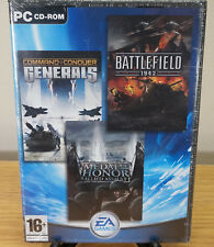 Command and Conquer Generals, Battlefield 1942 & Medal of Honor Allied Assault
