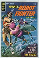 Magnus Robot Fighter 4000 A.D. #27 August 1969 VG