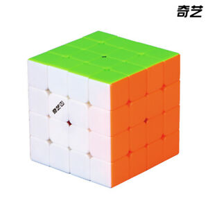 New QiYi MS 4x4x4 Magnetic Cube MoFangGe Speed Magic Cube Puzzle Toy Stickerless