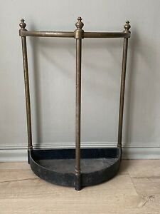 Antique brass country house umbrella stick stand
