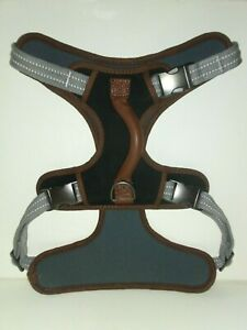 Reddy Gray Dog Harness, XXL/XXX-Large By: Reddy - Sturdy Strong Handle Quality