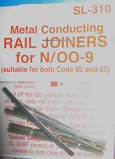 Peco Metal Rail Joiners N/00-9 SL-310