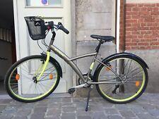 Vélo fille 26' BTWIN, très peu roulé, roues FLUO = Sécurité