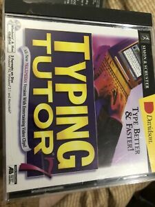 TYPING TUTOR 7 by Simon & Schuster CD-ROM