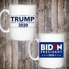 Donald Trump or Joe Biden Campaign mugs America USA presidental 11oz Mug 2020