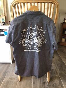 """Deus Ex Machina """" Gypsy Tour """"  Shirt XL Super Rare !"""