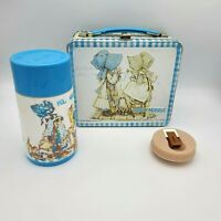 1979 ALADDIN HOLLY HOBBIE METAL LUNCHBOX WITH THERMOS